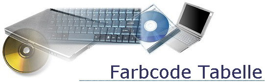 Farbcode Tabelle